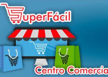 """Captura de pantalla de la portada del centro comercial digital """"Súper fácil"""", creación de la Empresa de Tecnologías de la Información y Servicios Telemáticos Avanzado (CITMATEL) de Cuba."""