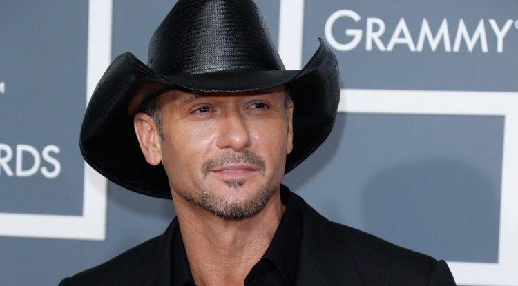 Tim McGraw. Foto: Grammy Awards.