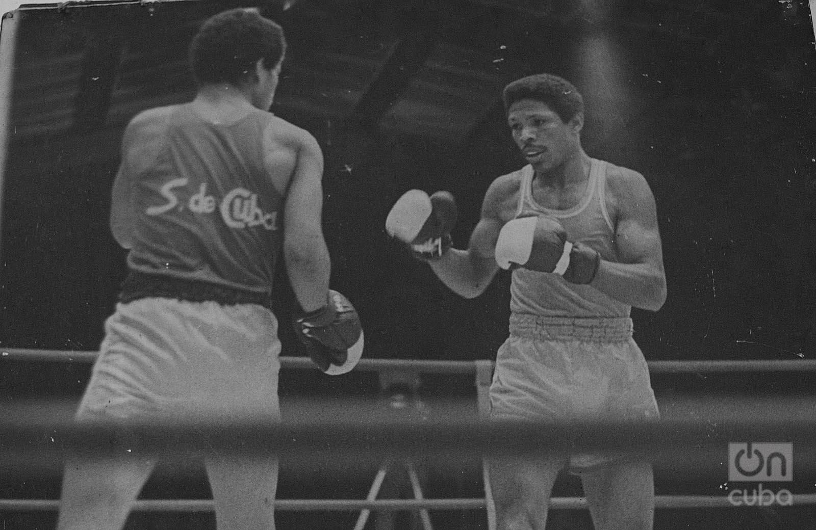 Ángel Herrera asegura que la preparación física y la agresividad sustentaron sus éxitos. Foto: Archivo de Oncuba
