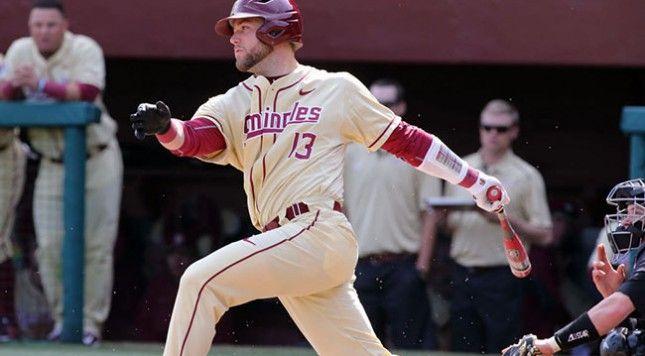 De La Calle triunfó en el béisbol colegial de Estados Unidos, pero tras ser seleccionado por Tampa en el Draft Amateur del 2015, no vio mucha acción en las Menores. Foto: Tomada de Noled Out