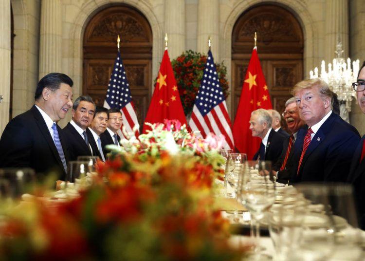 Fotografía de archivo del presidente de Estados Unidos Donald Trump, segundo de la derecha, y el presidente de China Xi Jinping, segundo de la izquierda, en su reunión bilateral en la cumbre G20 en Buenos Aires, Argentina. Foto: Pablo Martinez Monsivais / AP / Archivo.