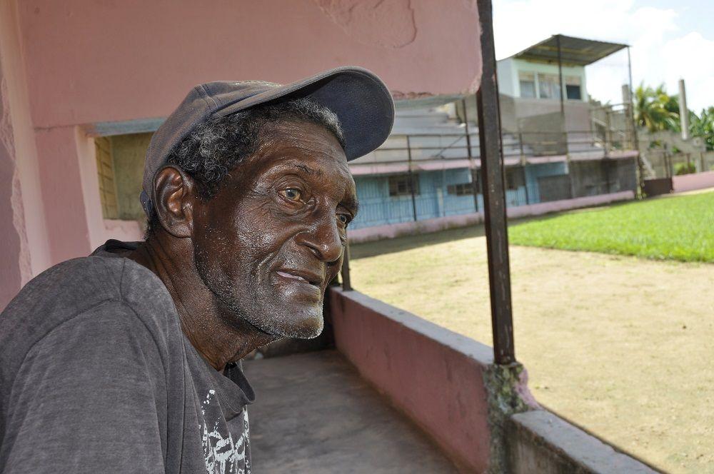 Gregorio Pérez, en el municipio tunero de Amancio Rodríguez. Foto: Oreidis Pimentel