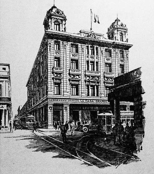 La Casa Grande es aún muy recordada por algunos habaneros. Foto: Archivo Bohemia.