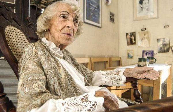 Herminia Sánchez, Premio Nacional de Teatro 2019 en Cuba. Foto: Dunia Álvarez / Juventud Rebelde.