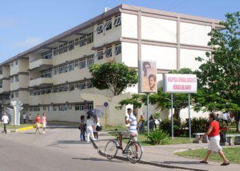 """Hospital """"Héroes de Baire"""", en la Isla de la Juventud, Cuba. Foto: Calixto N. Llanes / Trabajadores."""