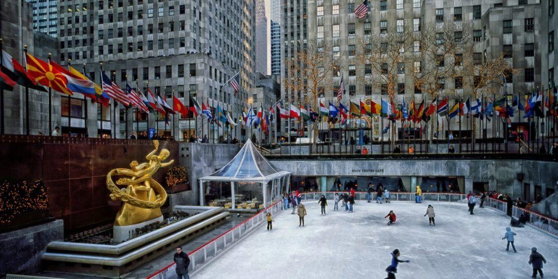 Pista de patinaje de Rockefeller Center. Foto: pxhere.com