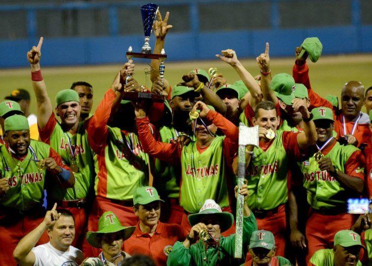 Tras 42 años de espera, Las Tunas se coronó por primera vez campeón de Cuba. Foto: Gabriel García
