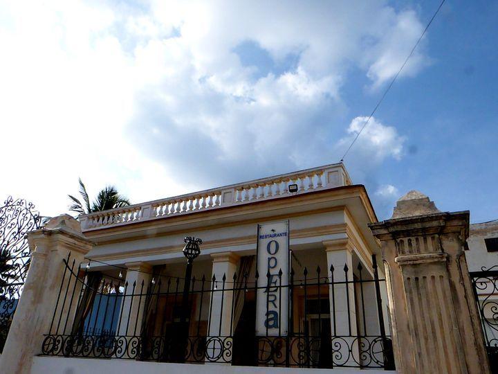 Fachada de Opera. Foto: Ángel Marqués Dolz.
