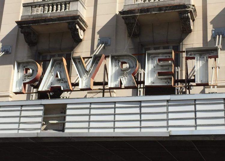 Cine-teatro Payret.
