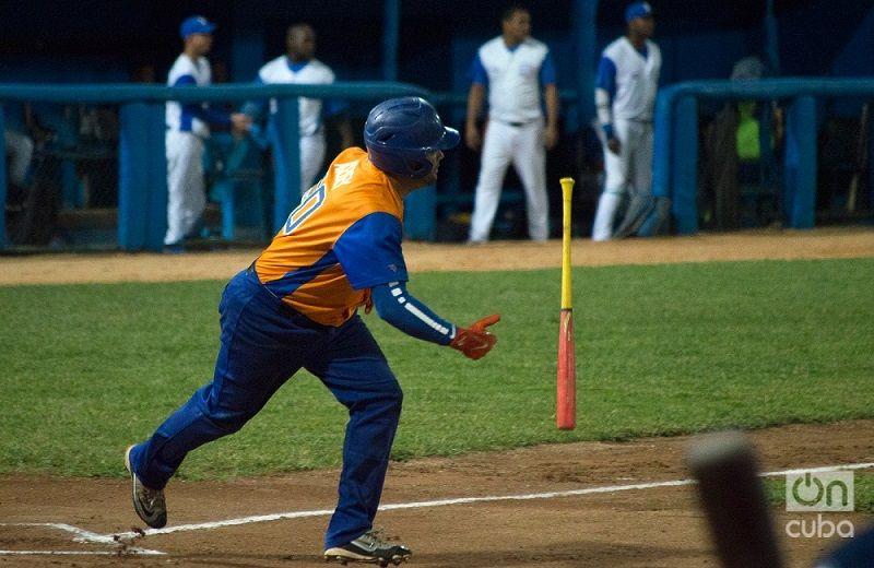 La ofensiva de los Gallos no pudo descifrar al pitcheo de Villa Clara en el play off. Foto: Otmaro Rodríguez
