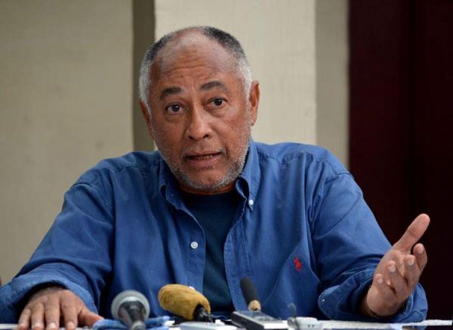 El cineasta cubano Rigoberto López (1947-2019). Foto: Rodolfo Blanco / ACN.