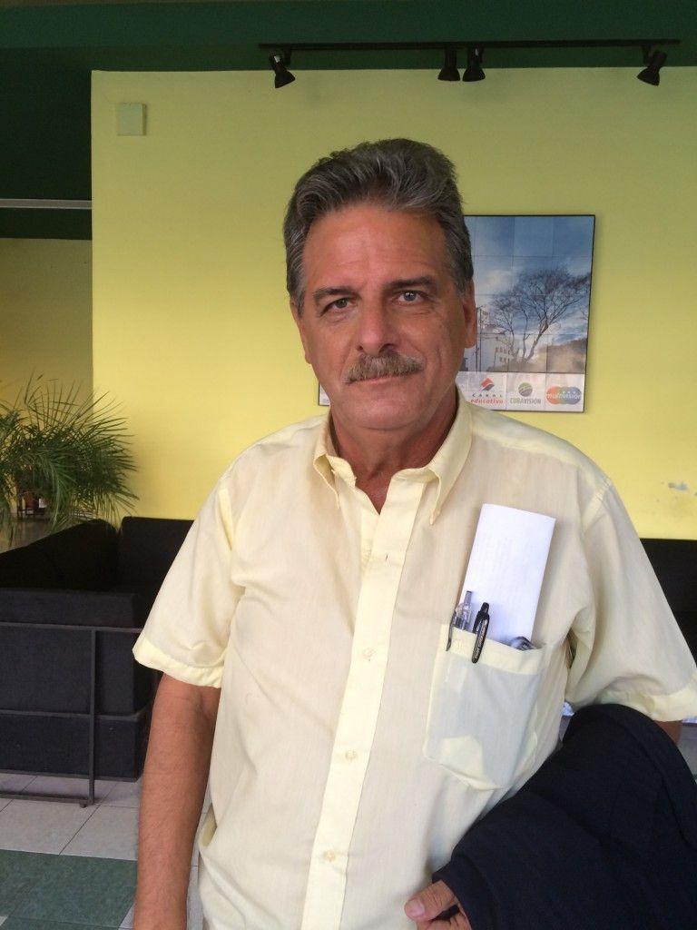 José Rubiera. Foto: Elaine Díaz/Periodismo de Barrio.