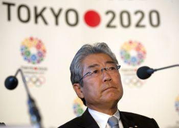 En esta foto del jueves 10 de enero de 2013, aparece Tsunekazu Takeda, presidente de la candidatura de Tokio para organizar los Juegos Olímpicos, durante una conferencia de prensa en Londres Foto: Alastair Grant / AP / Archivo.