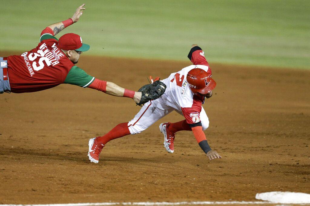 Venezuela busca su primer título de Serie del Caribe en los últimos diez años. (AP Foto/Arnulfo Franco)