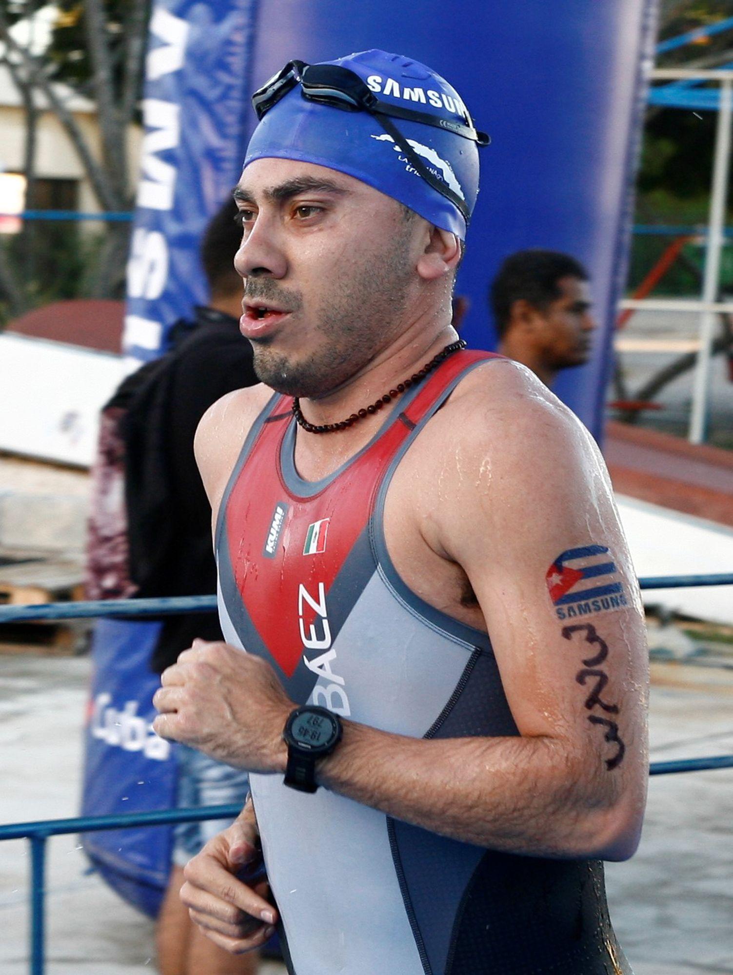 Samsung fue uno de los principales patrocinadores del Triatlón de La Habana en el 2018 y la marca apareció en cualquier lugar. Foto: Alex Castro.