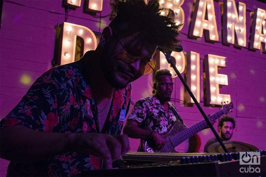 Concierto Habana de Pie. Real Project. Foto: Pablo Dewin Reyes.