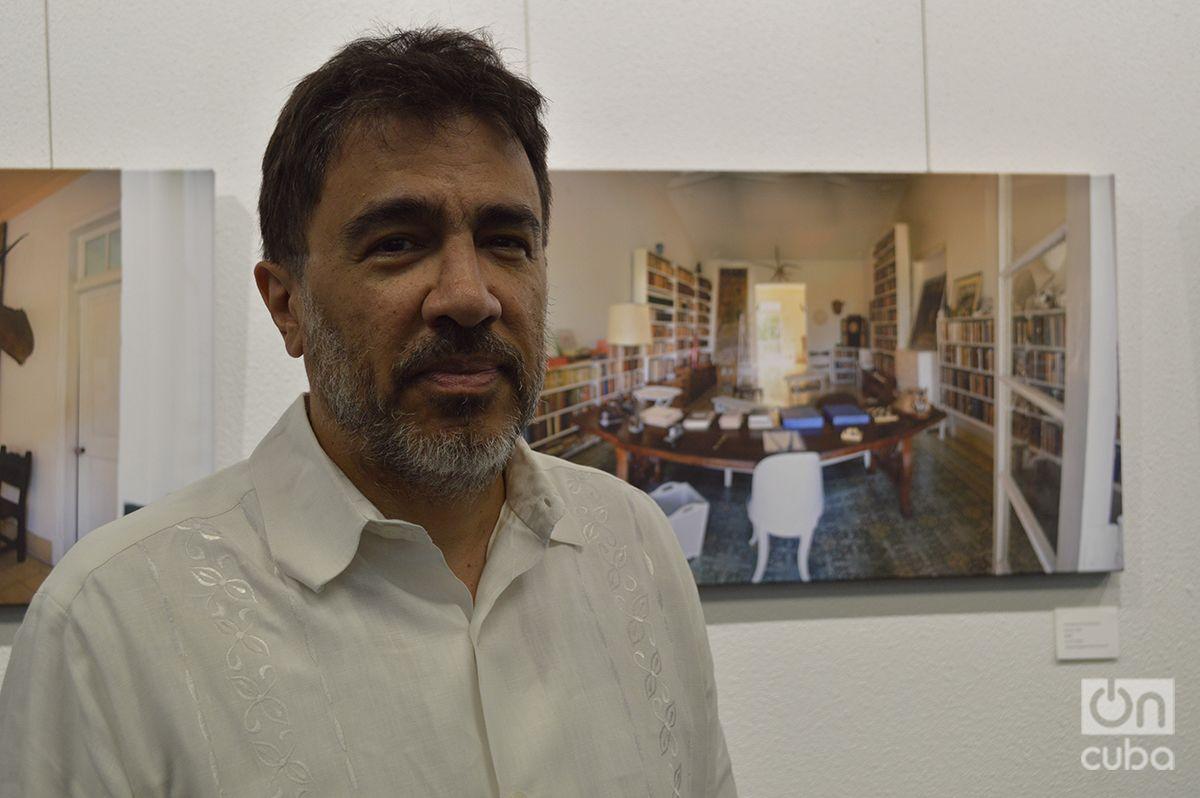 Hugo Fernández, fotógrafo y profesor de CUNY. Foto: Marita Pérez Díaz.