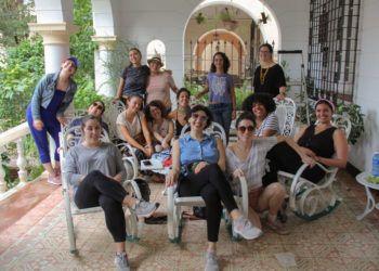 Participantes del viaje Unidas, organizado por CubaOne. Foto: Cortesía de CubaOne.
