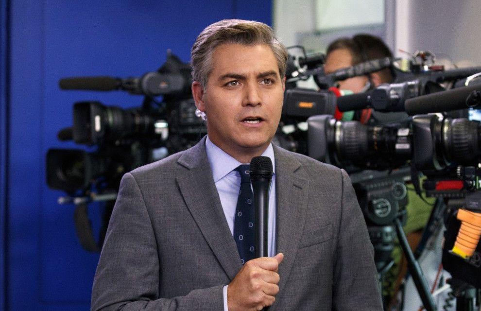 Jim Acosta. Foto: Evan Vucci/AP.