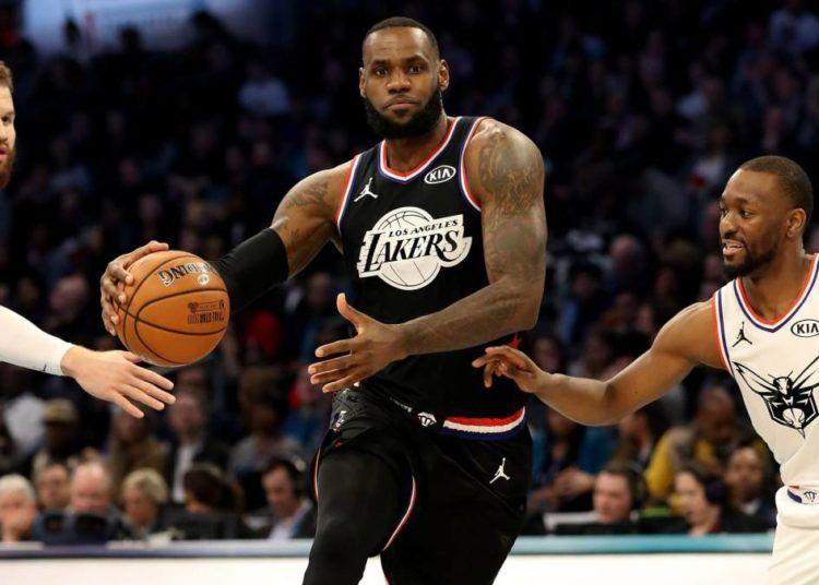 LeBron James lideró al equipo triunfador en el Juego de las Estrellas de la NBA 2019. Foto: Streeter Lecka / AFP.
