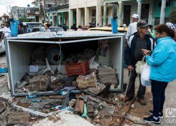 Daños provocados por el tornado del 27 de enero en La Habana. Foto: Otmaro Rodríguez.
