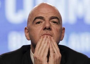 Gianni Infantino, presidente de la FIFA. Foto: AP/ M. Ruggiero/Archivo.