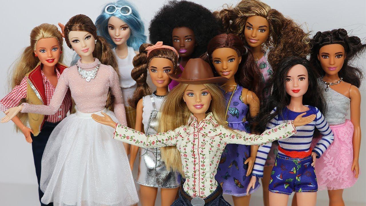 Barbies fashionistas.
