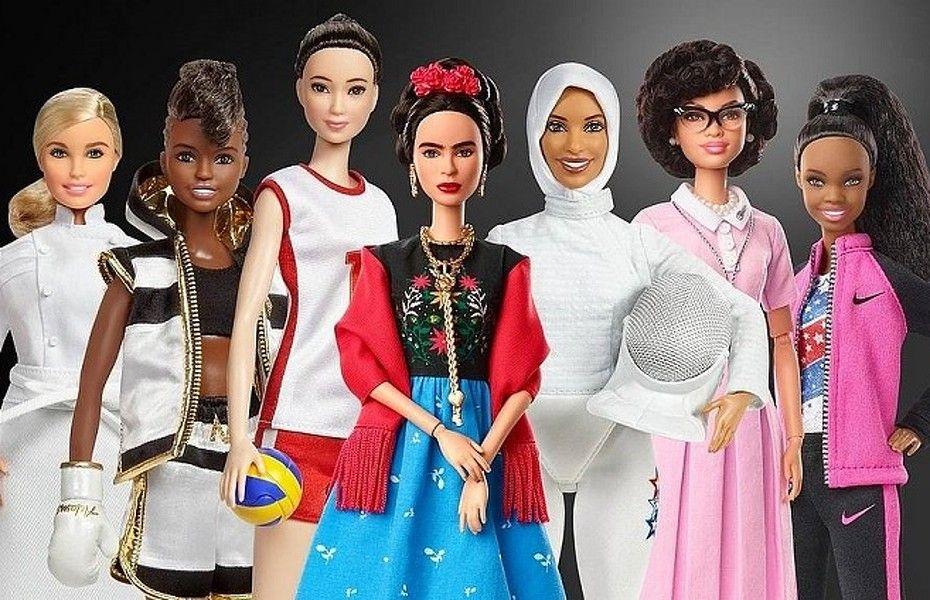 Mujeres inspiradoras. Foto: Mattel.