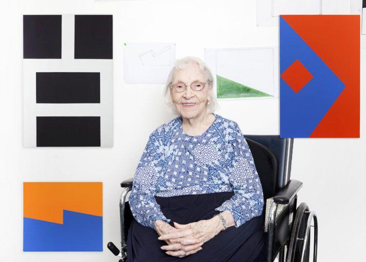 La pintora cubana Carmen Herrera. Foto: topicalcream.info