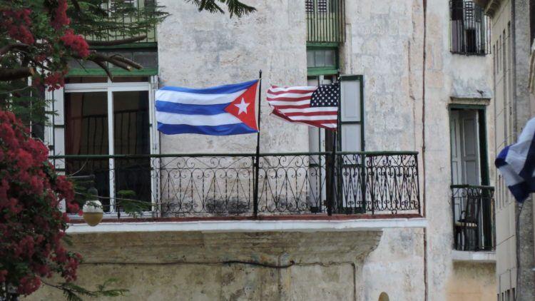 Foto tomada en La Habana Vieja en marzo de 2016 durante la visita del presidente Barack Obama a Cuba.