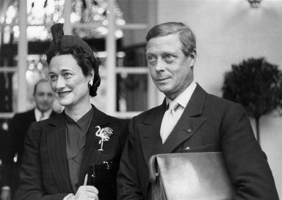 """El Duque de Windsor, y su esposa, la norteamericana Wallis Simpson. Alguna vez le preguntaron sus motivaciones para viajar a Cuba: """"Vengo por una razón muy simple: a jugar golf""""."""