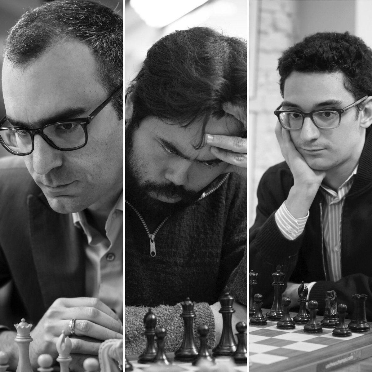 El duelo final entre Leinier, Nakamura y Caruana dejó al japonés como vencedor. Foto: Saint Louis Chess Club