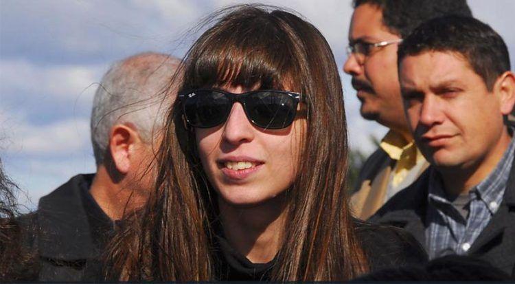 Florencia Kirchner, hija de los expresidentes Cristina Fernández y Néstor Kirchner. Foto: perfil.com / Archivo.