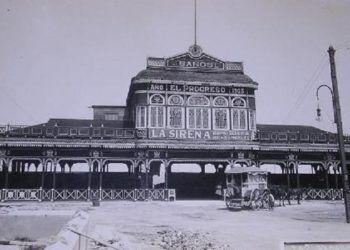 Los baños más lujosos del oeste habanero fueron los de El Progreso.