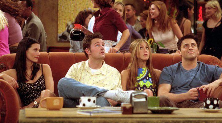 El sofá de Central Perk.