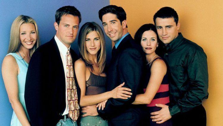 """Phoebe, Chandler, Rachel, Ross, Mónica y Joey... los friends de """"toda la vida""""."""