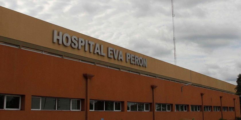 Hospital donde se le practicó la cesárea a la niña. Foto: Diario Perfil.