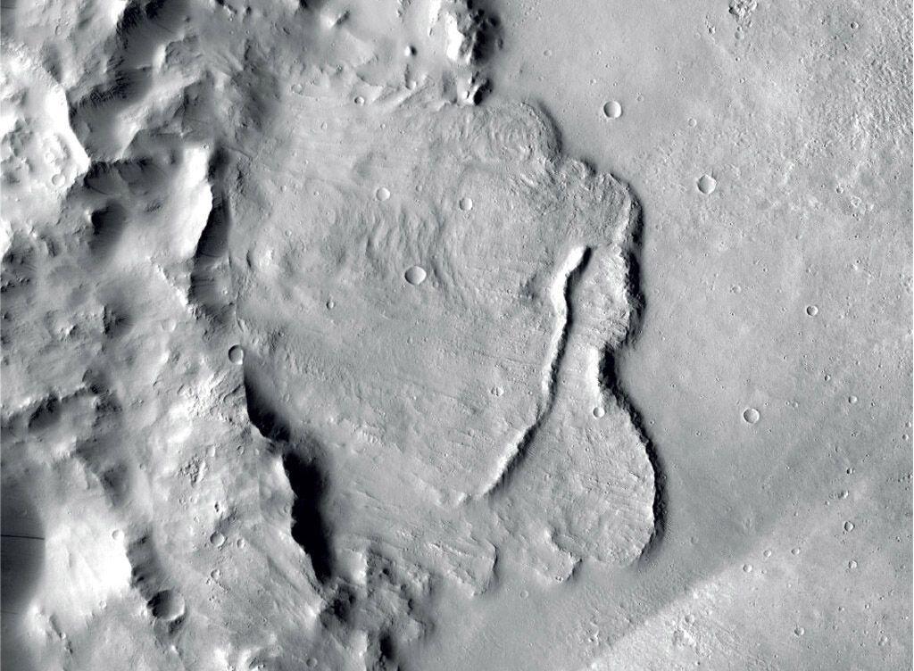 Imagen sin fecha proveída por la Agencia Espacial Europea (ESA) que muestra la superficie de Marte. Foto: NASA / JPL-Caltech / MSSS vía AP.