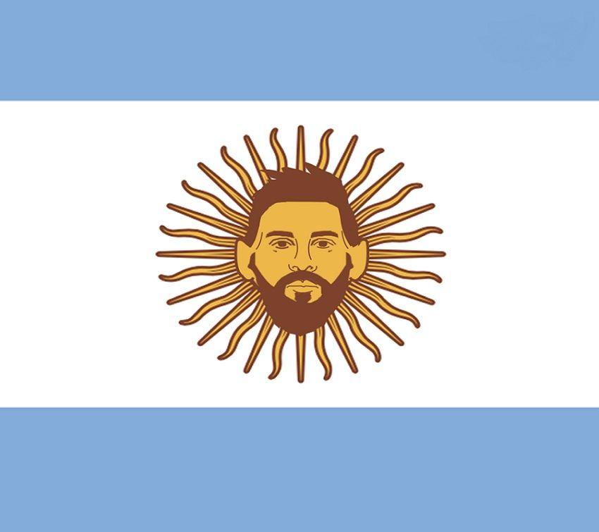 Argentina deposita de nuevo sus esperanzas en Messi. Ilustración tomada de AS