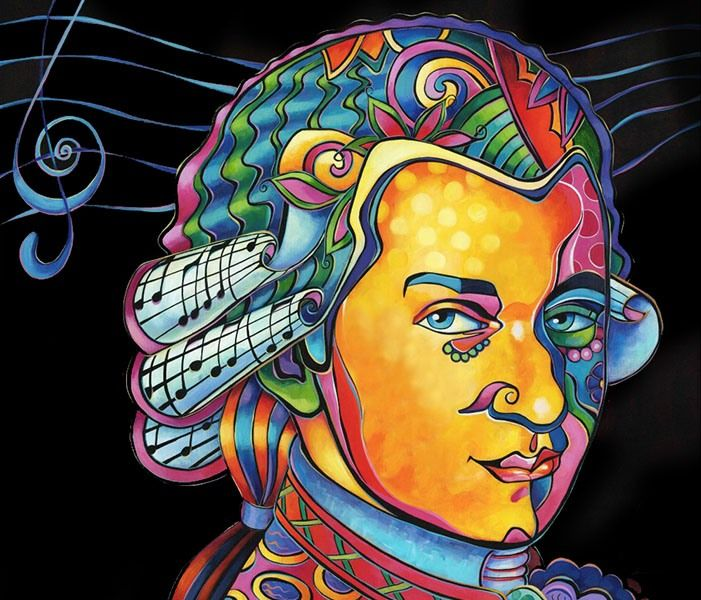Según algunas investigaciones, la música de Mozart estimula el desarrollo de la actividad cerebral de los bebés y activa su inteligencia. Se conoce como Efecto Mozart.