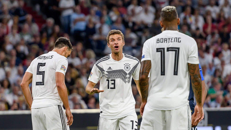 Mueller, Hummels y Boateng no volverán a vestir la casaca alemana. Foto: DFB