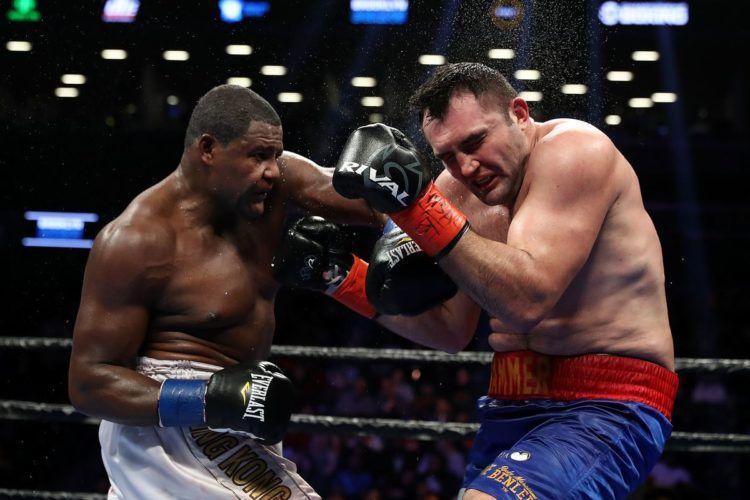 Luis Ortiz derrotó por decisión unánime a Christian Hammer. Foto: Al Bello/Getty Images