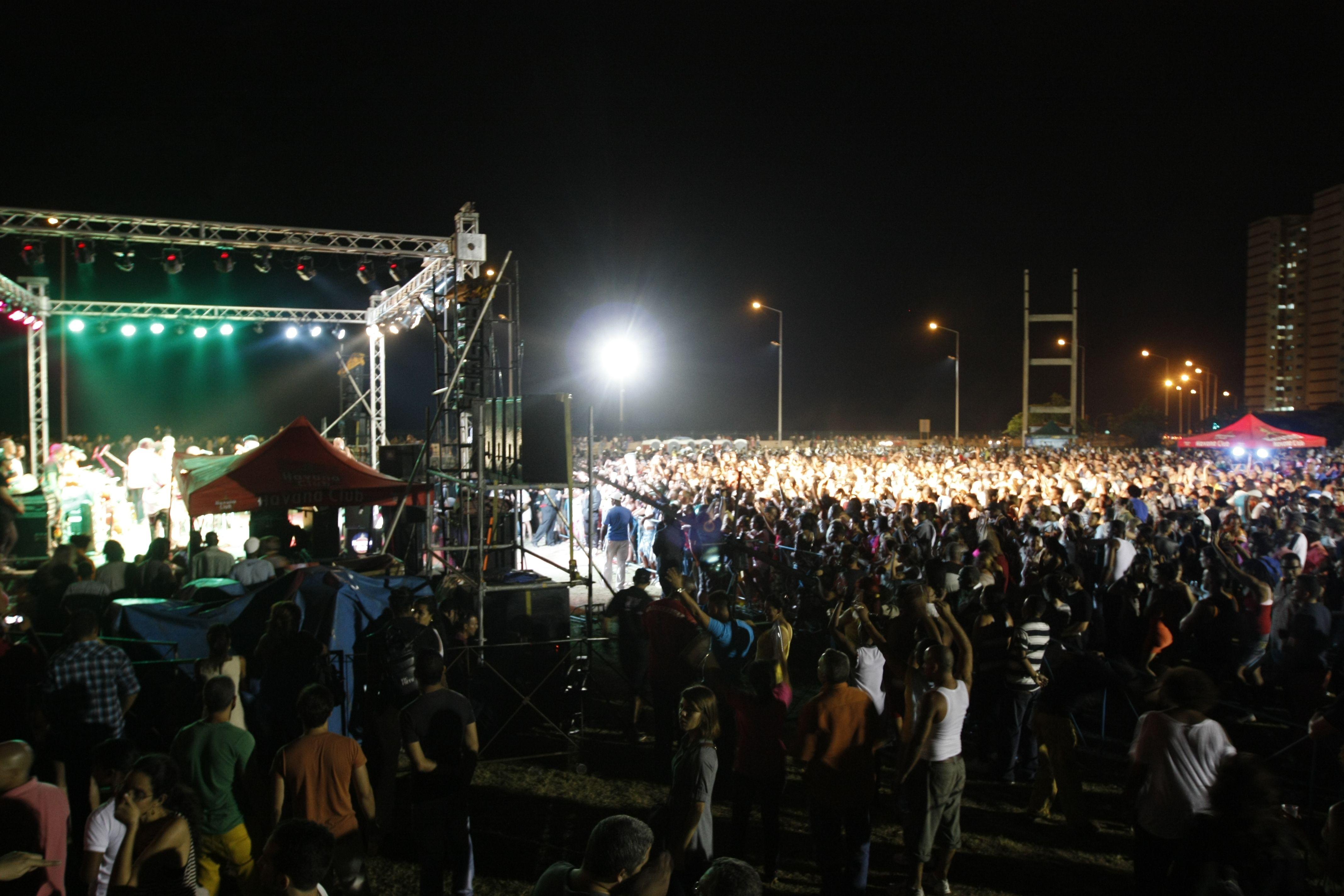1er Festival Havana World Music (HWM) en el Centro Recreativo J. A. Echeverría. Foto: Cortesía HWM.