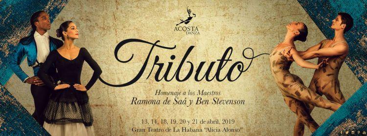 """""""Tributo"""", nueva temporada de Acosta Danza. Diseño de imagen: Retu."""