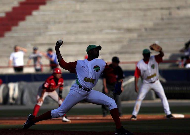 Raidel Martínez en la Serie del Caribe de Panamá 2019. Foto: EFE