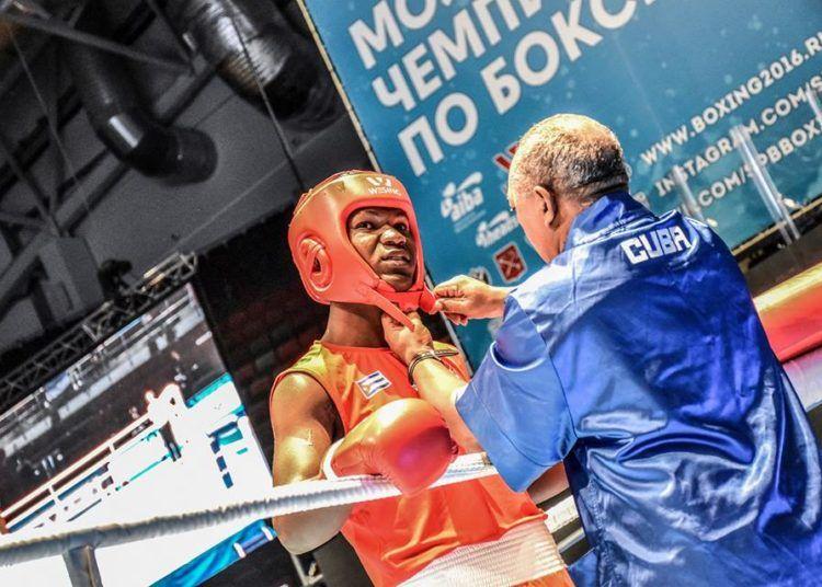 Dainier Peró logró la clasificación a los Panamericanos en los super completos, división que ha dominado en Cuba durante los últimos meses. Foto: AIBA