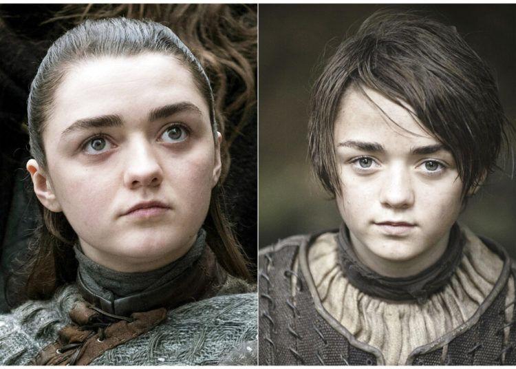 """La actriz Maisie Williams como Arya Stark en """"Game of Thrones"""". La temporada final de la popular serie se estrena el 14 de abril. Foto: HBO vía AP."""