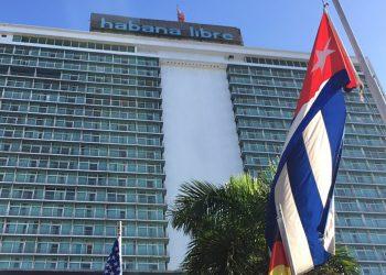 El Hotel Habana Libre. Foto : Nicolás Villar /Infobae