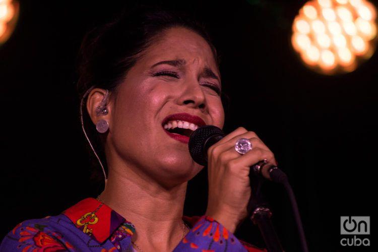 Haydée Milanés. Foto: Otmaro Rodríguez.
