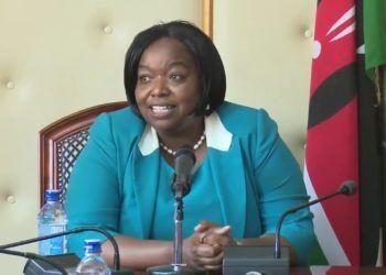 Ministra de Relaciones Exteriores de Kenia, Monica Juma. Foto: lolwe.tv